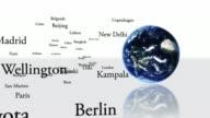 Capitals around the globe video