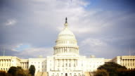 U.S Capitol Building HD Timelapse video
