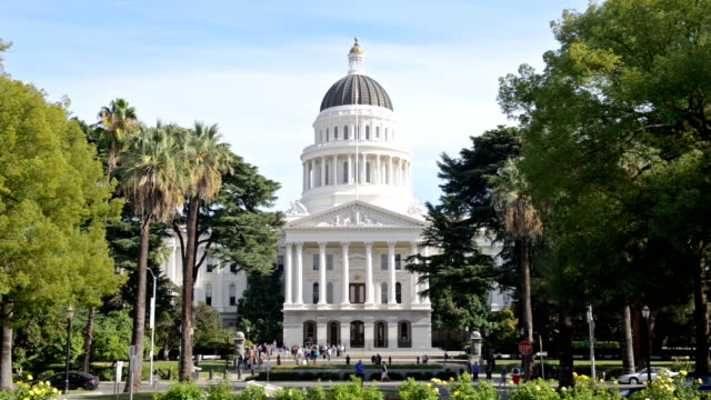 Capitol Building Sacramento California video