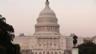 US Capitol Building - tilt down video