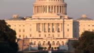 US Capitol - tilt up video