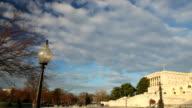 US Capitol West facade panorama - PAN video