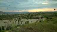 Cappadocia Balloons Wide Angle video