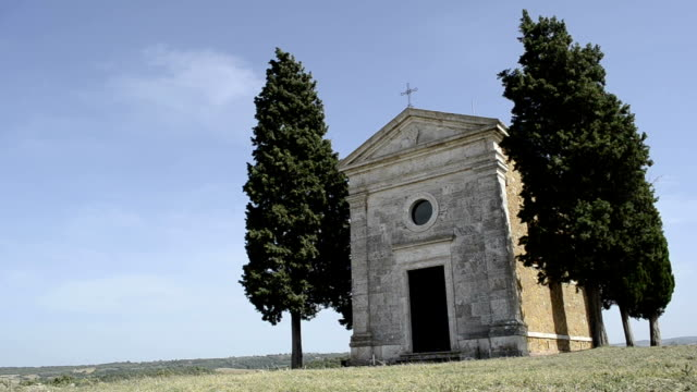 Cappella di Vitaleta - Italy Tuscany Church video