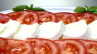 caprese salad in the kitchen video
