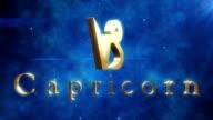 Capricorn (Zodiac Air Sign)   Loopable video