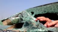 Car accident & dead body video