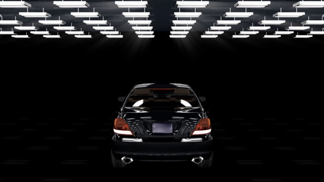 Car assembling, loop, Alpha video