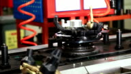 car brake workshop in a local car factory video