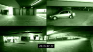 Car Break-In Surveillance  Footage video