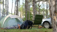 Car camping video