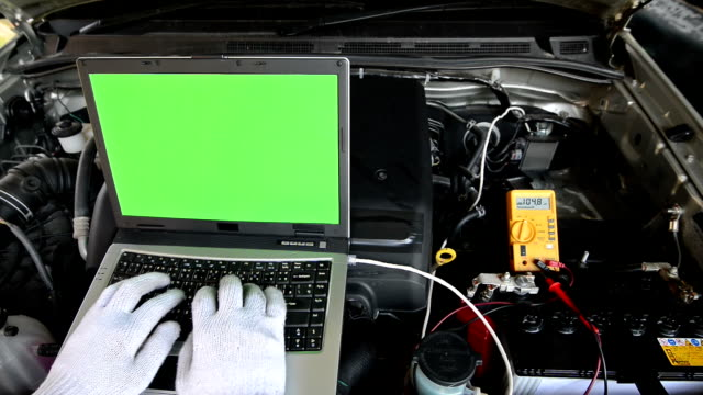 Car checking video