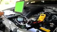 Car checking video