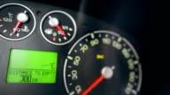Car computer on dashboard video