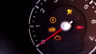 Car dashboard icons video