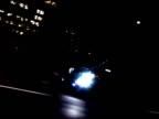 Car driving through Downtown LA video