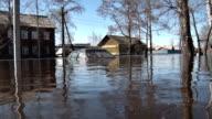 Car During a Flood video