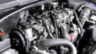 Car engine working video