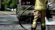 Car Fire Emergency video