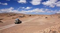 Car in the desert video