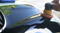 Car polishing video