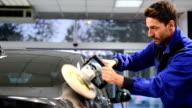 Car polishing video