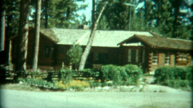 Car Ride To Log Cabin 1950 video