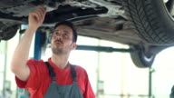 Car service 4k. video