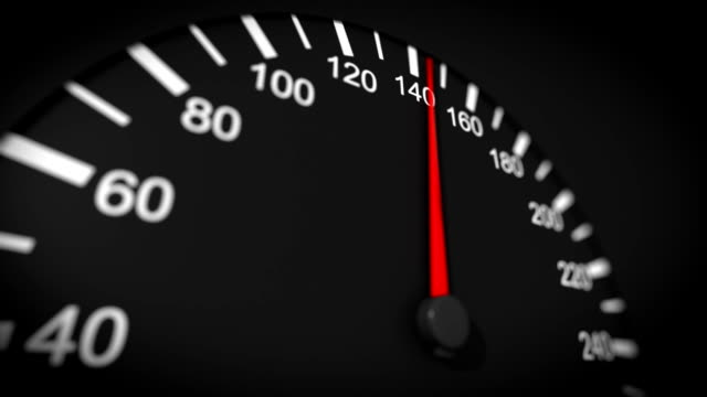 Car speedometer HD. video