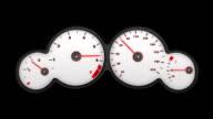 car speedometer PAL video