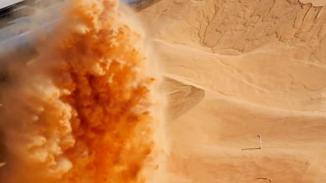 car stuck in sand video