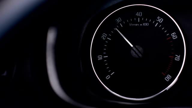 Car Tachometer video