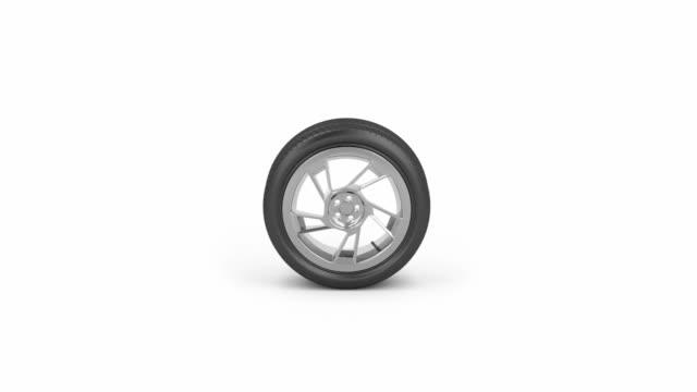 Car tire video