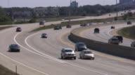 Car traffic. Highway. video