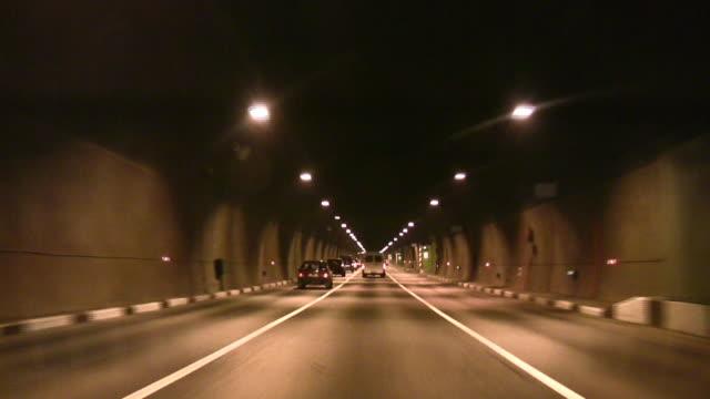 Car tunnel video