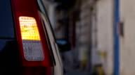 Car turn signal video