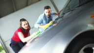 Car wash self service. video