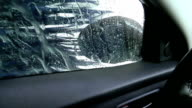 Car Wash, Water, Glass and Mirror video