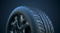 Car Wheel | Loopable video