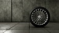 Car wheel video