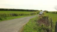 Caravan trailer travelling video