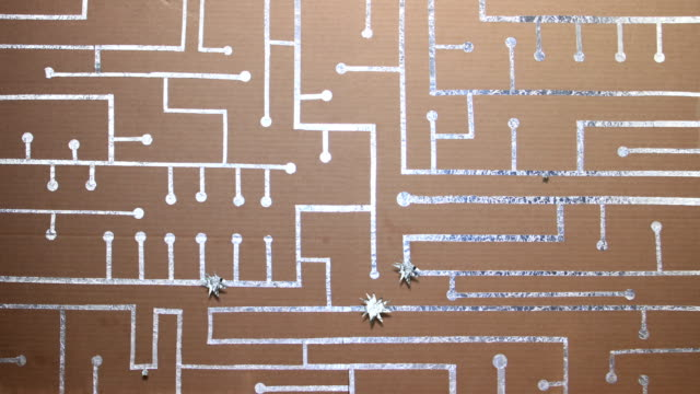 Card And Foil Circuit Board video