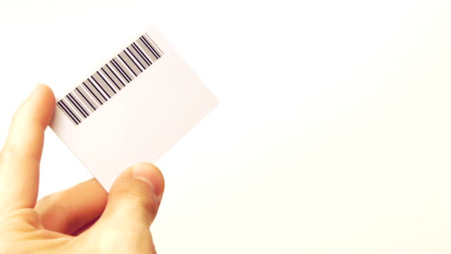 HD - Card with BarCode video