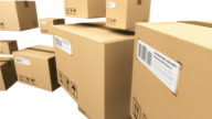 Cardboard boxes video