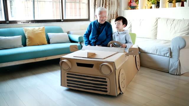 Cardboard car video