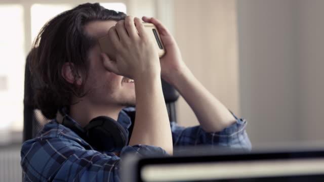Cardboard Virtual Reality Headset video