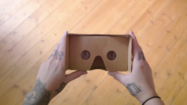 4K Cardboard Virtual Reality POV video