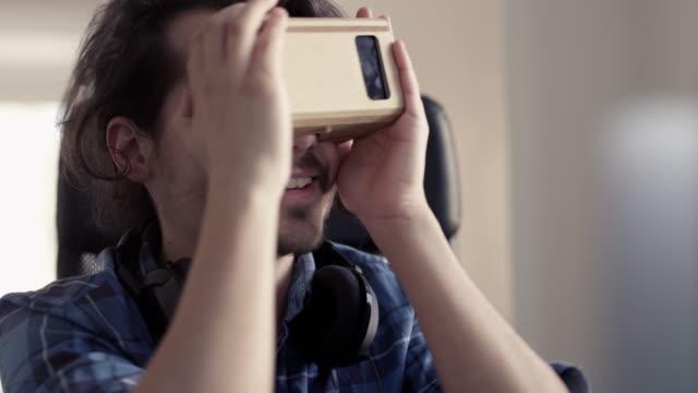 Cardboard VR Glasses video