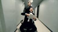 Carefree Businessmen video