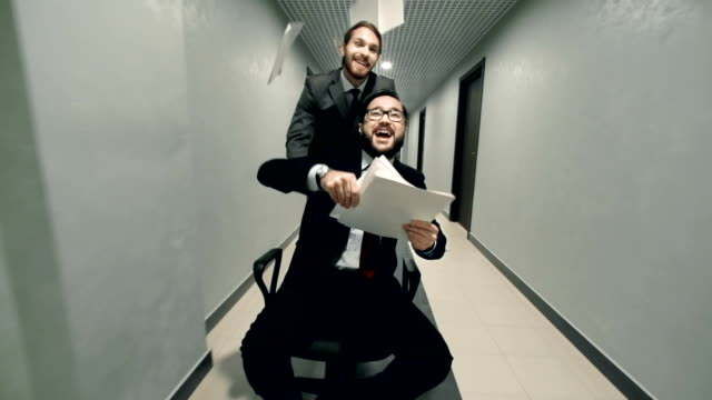 Carefree Businessmen video